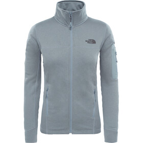 The North Face Kyoshi Full Zip Fleece Jacket Dam monument grey dark heather